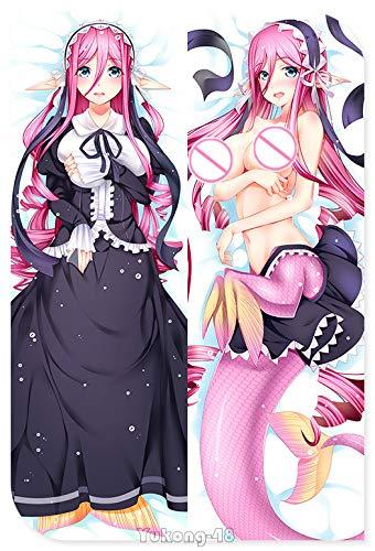 Buy Bargain Yukong Meroune Lorelei Monster Musume Japanese Peach Skin 160x50cm Pillowcases