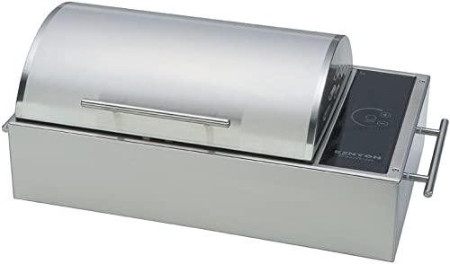 Kenyon-B70082-Floridian-All-Seasons-Portable-Stainless-Steel-Electric-Grill,-120V