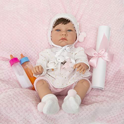 MARÍA JESÚS Bebe Reborn Muñecos Reborn simulación con Peso Especial Hechos en España, Muñecas para niñas, Bebes Reborn, Baby Reborn