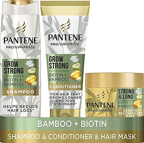 Pantene Grow Strong Shampoo and Conditioner Set for Up to 96 Percent Less...