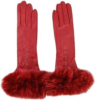 Luxury Fashion   Sermoneta Gloves Womens SG05EL6180220 Red Gloves   Spring Summer 19