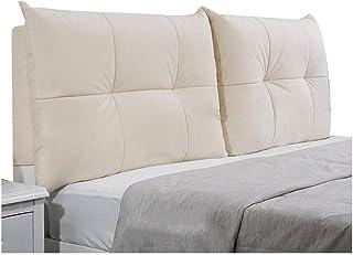 PENGFEI Bett Kopfteil Gepolstert Kissen Ruckenkissen Bettseite Weiche Abdeckung Taille Entlasten Ermudung Waschbar