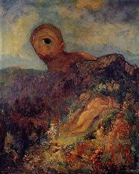 オディロン・ルドン「キュクロプス」1895-1900年