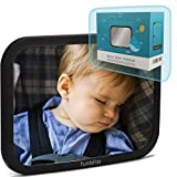 Car Mirror Baby Rear Facing Seat,Baby Car Mirror Safely Monitor Infant Child in Rear Facing Car Seat,See Children or Pets in Backseat,Best Newborn Car Seat Accessories, Shatterproof