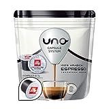 192 Cialde Uno Capsule System Illy Espresso Scura Arabica Originali