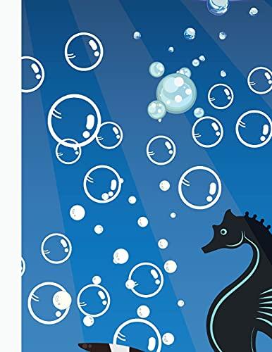 Creature Marine Libro da Colorare: Incredibili Pagine da Colorare con Creature Sottomarine per Bambini e Ragazzi   47 Balene Carine, Cavallucci ... Dell'Oceano da Colorare per Ragazzi e Ragazze