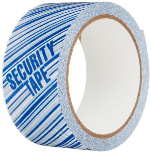 TapeCase 150SP, confezione da 7, colore: bianco, motivo: nastro con scritta'Security', Tape, (2 x 55yds 5,08 cm (1') rotolo)