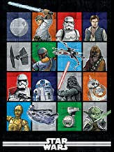 Star Wars Episode 9 Weighted Blanket 5 lbs - Measures 40 x 60 inches, Kids Bedding - Fade Resistant Super Soft Velboa - (Official Star Wars Product)