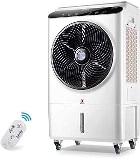Verdunstungskühler Bärbar luftkylare med EIS och fjärrkontroll, 48 l vattentank, luftfuktare, bärbar, tyst rum luftkonditi...