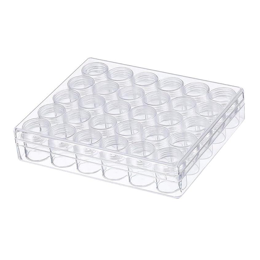 シャーク参加者メタンVICOODA 化粧品用小分け容器 プラスチック クリームケース 透明 携帯用 6g 30個セット