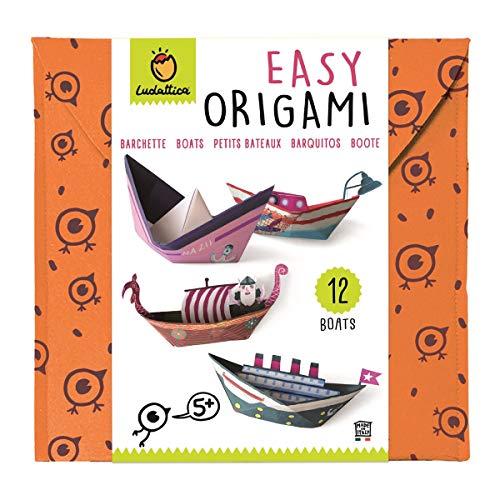 Ludattica Origami Easy Origami boten Meerkleurig