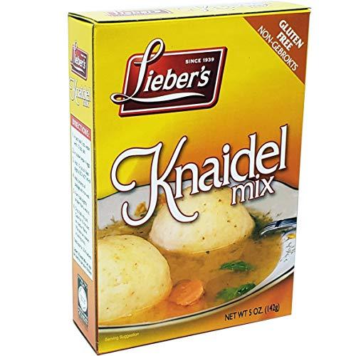 Matzo Ball Knaidel Mix, Gluten Free, Kosher For Passover, 5 Ounce Box (Single)