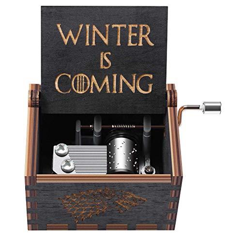 su ma Carillon in legno puro di Hand of Game Thrones. Carillon in legno in legno creativo