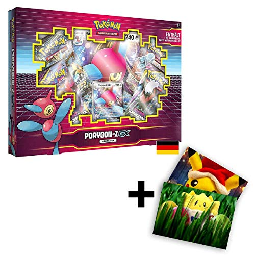 Lively Moments Pokemon Karten Porygon-Z - GX Box / Kollektion DE Deutsch Promo Sammelkarten / Spielkarten
