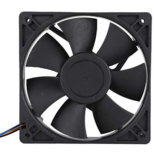 Cuifati Ventilador de refrigeración PWM, rodamiento de Bolas Doble de Alta precisión sin Mantenimiento, Adecuado para disipación de Calor Extrema o Uso en servidores.