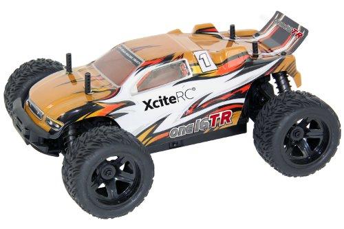 XciteRC 30504000 rC Una 16 t Auto R truggy - Pronto a Correre 009 547 4WD con Oro a Distanza di 2,4 GHz, Scala 1:16