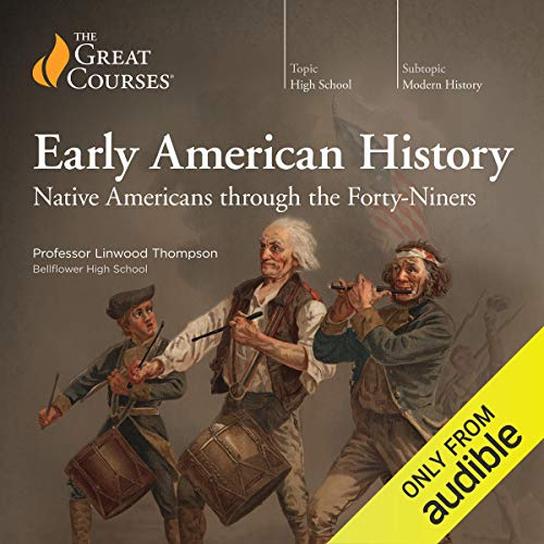 High School Level - Early American History audiobook cover art