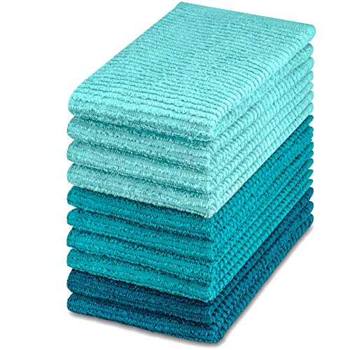 Top 10 Best Selling List for turquoise kitchen towels