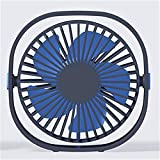Mackur 3-vitesse mini ventilateur de table USB, angle réglable personnelle de...