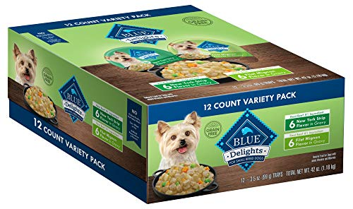 Blue Buffalo Divine Delights Natural Adult Small Breed Wet Dog Food...