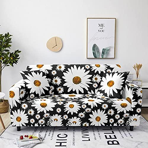 Gpink Funda De Sofá Estilo Serie Chrysanthemum La Funda De Sofá De Poliéster Se Puede Lavar, Antideslizante Y A Prueba De Polvo, Adecuada para El Balcón De La Sala De Estar