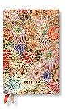Paperblanks Planificador y calendario de 18 meses, julio de 2019 a diciembre de 2020, Kikka, semana tras semana (horizontal), mini (140 x 95 mm)