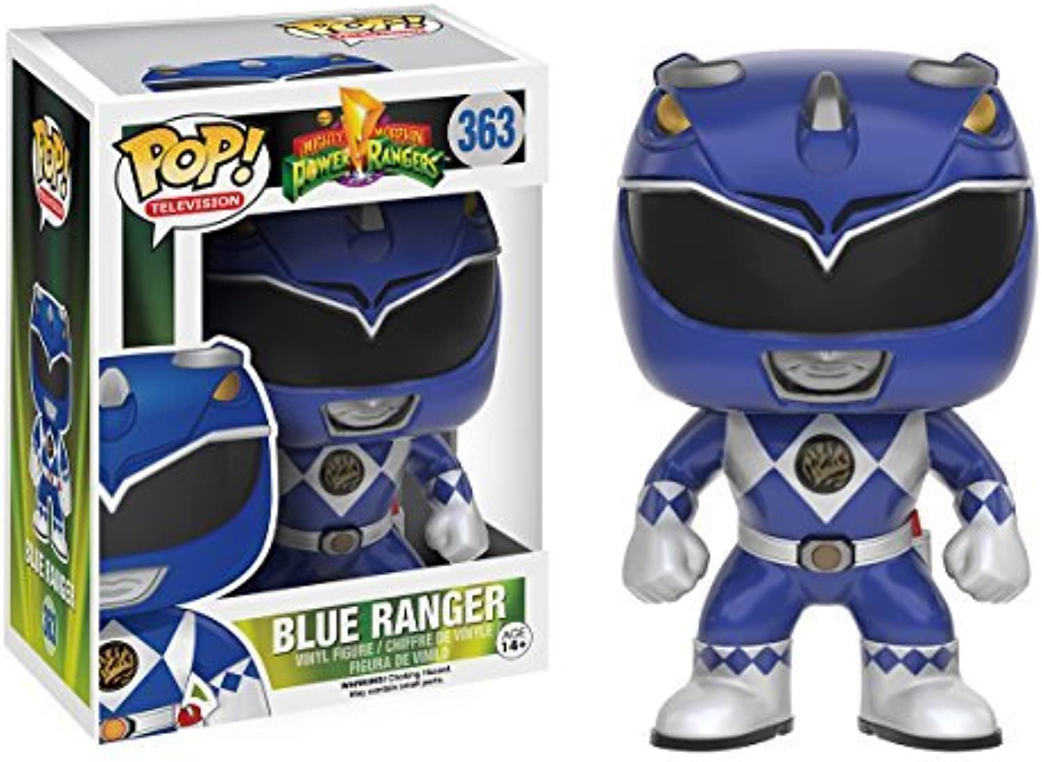 divertimentoko POP TV  energia Rangers - blu Ranger azione cifra by divertimentoKo