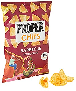 PROPERCHIPS Barbecue Lentil Chips, 85g (B081TDQGVT) | Amazon price tracker / tracking, Amazon price history charts, Amazon price watches, Amazon price drop alerts
