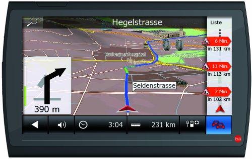 Falk NEO 620 LMU Navigationsgerät (15,2 cm (6 Zoll) Display, 20 Länder Europas vorinstalliert, Lebenslange Kartenupdates, TMC, Marco Polo Travelguide) schwarz