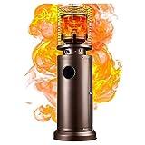 DJLOOKK Calentador de Patio, Calentador de Gas para Exteriores, lámpara de Calor para jardín de Calor rápido, Estufa de calefacción para hogar Comercial,Liquefied Gas