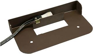 Hardscape Supply Paver Wall Hardscape Light/White LED/Bronze Powder Coat