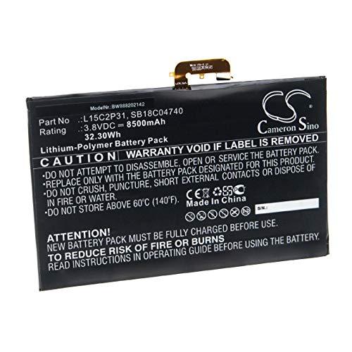 vhbw Batería Compatible con Lenovo Yoga Book YB1-X90F (ZA0V0026), YB1-X90F (ZA0V0043) Notebook (8500mAh 3,8V polímero de Litio)