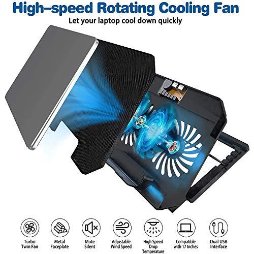 Zinq Technologies Cool Slate Dual Fan for Laptop