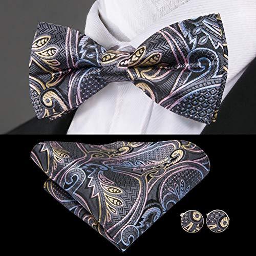 KDSXMLS Bowtie Männer Formale Krawatte Jungen Herrenmode Geschäft Hochzeit Fliege Männlichen Smokinghemd Geschenk