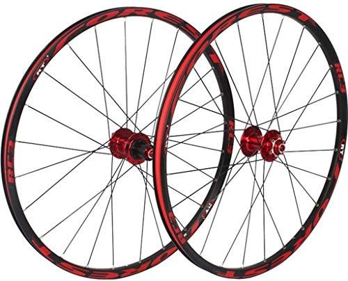YSHUAI Ruedas delanteras y traseras para bicicleta de montaña de 26 pulgadas...