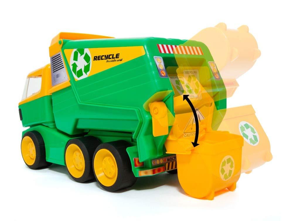 M MOLTO Camión de la Basura de Juguete: Amazon.es: Juguetes y juegos