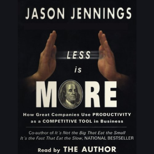 Less is more audiobook for Less is more boek