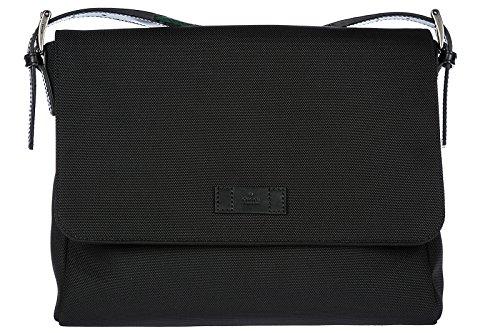Gucci borsa uomo a tracolla borsello originale techno canvas nero