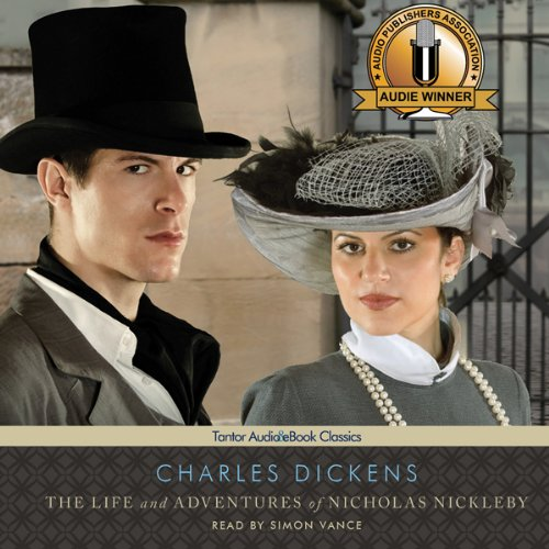 The Life and Adventures of Nicholas Nickleby audiobook cover art