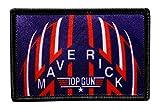 "Top Gun Maverick Flight Helmet Patch [""Velcro Brand"" Fastener -3.0 x 2.0 -M2]"