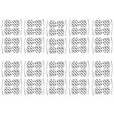 80 Electrodos de 5 x 5 cm - para su aparato TENS EMS electroestimulador - axion