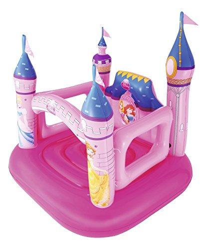 Bestway 91050 | Disney Princess - Castello Gonfiabile Delle Principesse, 157x147x163 cm