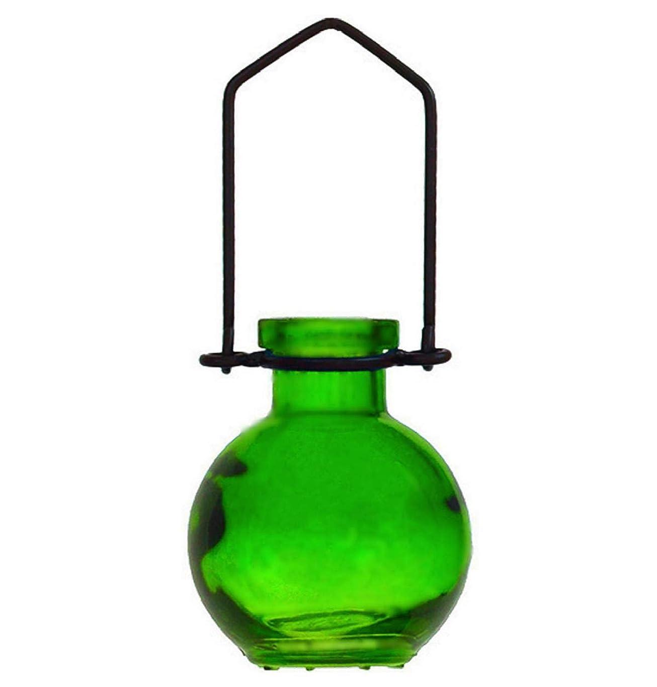 キャリッジ衰える省装飾用吊り下げ花瓶 小型のガラスボトル 寮の飾り カラフルなお香立て 壁掛け装飾 ロマンチックな装飾 G270VF