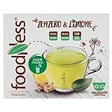 Foodness Capsula Bevanda Zenzero e Limone compatibile Dolcegusto - 6 Confezioni da 10 Capsule