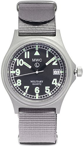 MWC G10 Military Armbanduhr 100 m Version mit Schraube Down Crown