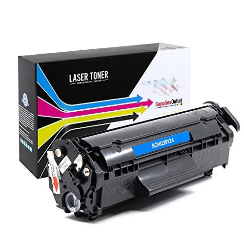 SuppliesOutlet Compatible Toner Cartridge Replacement for HP 12A / Q2612A (Black,1 Pack)