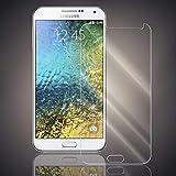 Panzerfolie für Samsung Galaxy E7 Panzer Schutzglas Folie Premium Bildschirmschutzfolie [Screen Protector] 9H HD Glasfolie Hartglas Schutzfolie Displayschutz