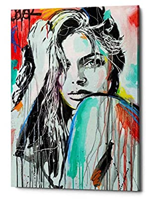 "Epic Graffiti ""in Spirit by Loui Jover, Giclee Canvas Wall Art"
