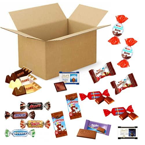 Assortiment de 250 chocolats et bonbons :CELEBRATIONS, CEMOI, TOBLERONE, DAIM, MILKA, CARAMBAR