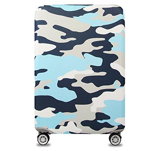 YianBestja Elastico Cover Valigia Copri Copertura per 18'-32' Valigia Suitcase Cover (Camouflage 1, L)